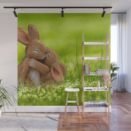 Easter Bonny | Lapin de Pâques Wall Mural