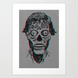 They Live 3D Art Print