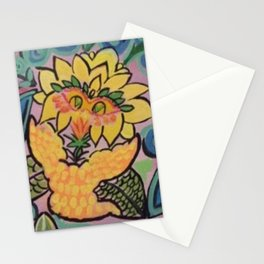 Looney Bird Painting Stationery Cards
