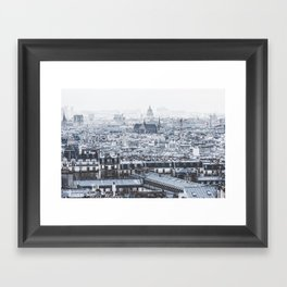 Rooftops - Architecture, Photography Framed Art Print