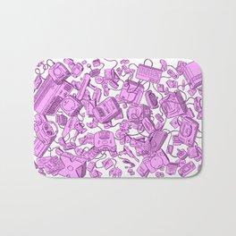 Retro Gamer - Pink Bath Mat