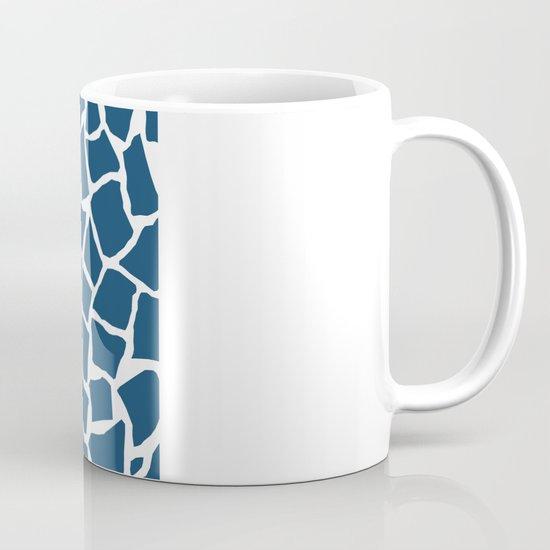 Mosaic Zoom Navy Mug
