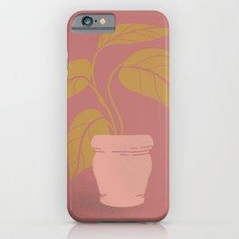 Happy Houseplant Baby iPhone Case