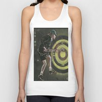 acdc Tank Tops featuring AC/DC by Ray Stephenson