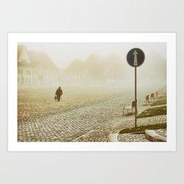 one-way Art Print