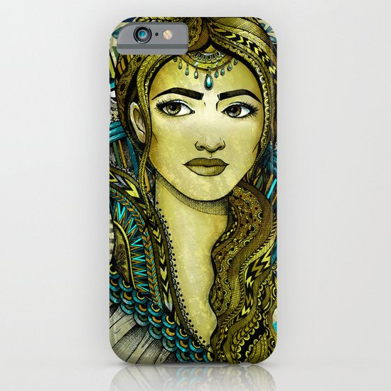 Golden Girl iPhone & iPod Case