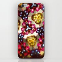 kaleidoscope iPhone & iPod Skins featuring Kaleidoscope by ADH Graphic Design