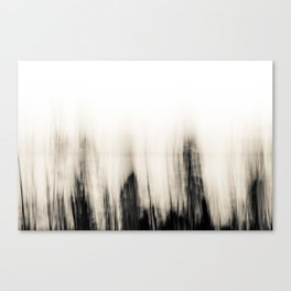 Trees By the Sea Abstract Canvas Print