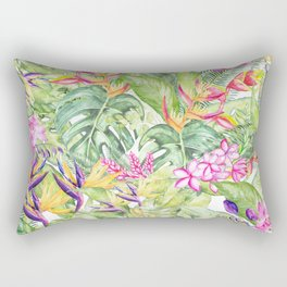 Tropical Garden 1A #society6 Rectangular Pillow