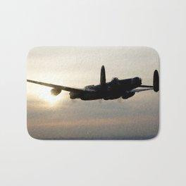 Lancaster Bomber - Fantastic digital Painting Bath Mat