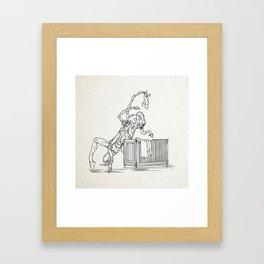 Bogeyman Framed Art Print