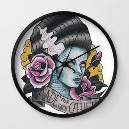 Bride of Frankenstein Wall Clock
