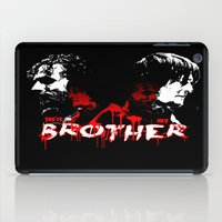 rick grimes iPad Cases featuring Daryl Dixon and Rick Grimes by artandawesome