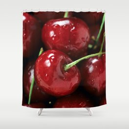 Cherry Cherry Shower Curtain