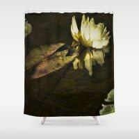 beth hoeckel Shower Curtains featuring Lily Beth by gymmybob