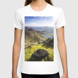 Snowdon Pyg and Miners Track T-shirt