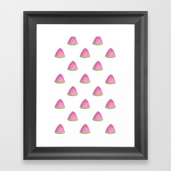 Summer Playtime Framed Art Print