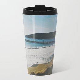 Avila Beach, CA Metal Travel Mug