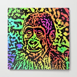 Ultra pop Art 1985 - Gorilla Baby Metal Print