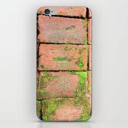 Bricks Walkway iPhone Skin
