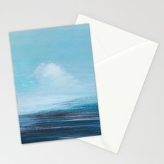 abstract surreal seascape Stationery Cards