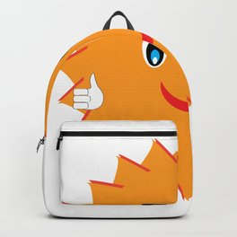Wish You Luck Sun - Morning Vibes - Fresh & Fun - Pop Style Backpack