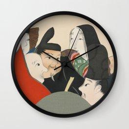 Kamisaka Sekka - Rokkasen from Momoyogusa Wall Clock