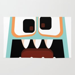 Bubble Beasts: Menacing Mint Fang Cleanser Rug