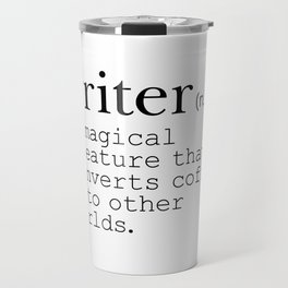 Writer Definition - Converting Coffee Travel Mug