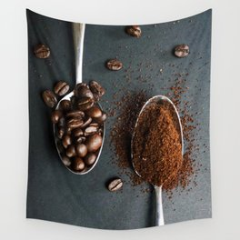 Coffee Spoons Wall Tapestry