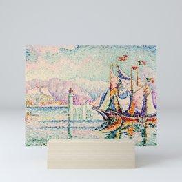 """Paul Signac """"Antibes - Morning"""" Mini Art Print"""