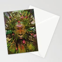 """ The nature acts, the man makes. "" Stationery Cards"