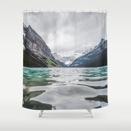 Lake Louise | Alberta Landscape Photography Shower Curtain