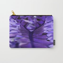 Leafy Transparency Carry-All Pouch