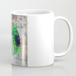Save the Earth - Neon Coffee Mug