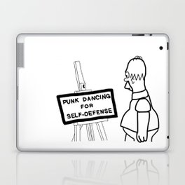 Punk Dancing For Self Defense Laptop & iPad Skin