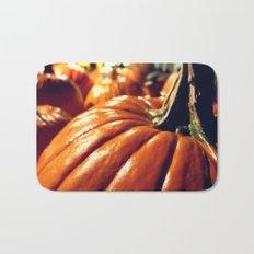 Shiny Pumpkins Bath Mat
