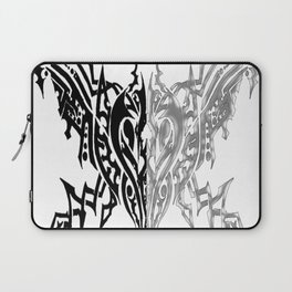 Tribal Arachne Plated and Black Laptop Sleeve