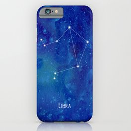 Constellation Libra iPhone Case