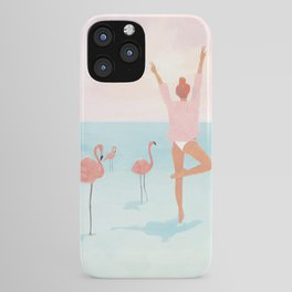 Big Flamingo iPhone Case