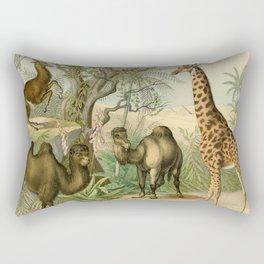 Giraffe and Friends Rectangular Pillow