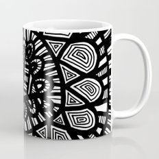 Black and White Doodle 7 Coffee Mug