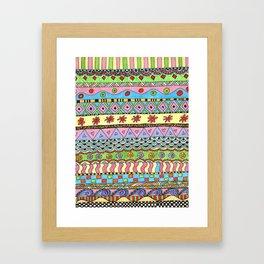 Candystripes Framed Art Print