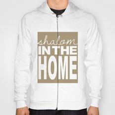 Shalom in the Home, sea foam Hoody