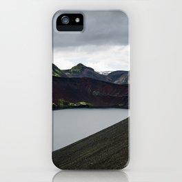 Iceland Lake iPhone Case