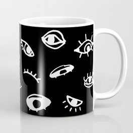 Bad Eyes (Black) Coffee Mug