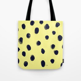 Fingerprint of Dots Tote Bag