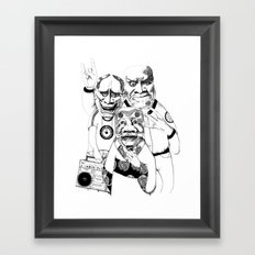 East/ West -->Please vote for my submission on Threadless  !!  Framed Art Print