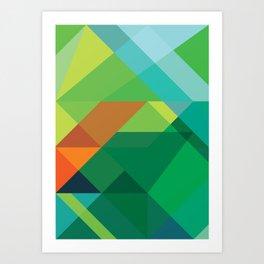 Minimal/Maximal 3 Art Print
