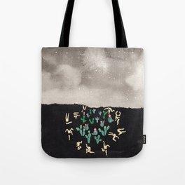 Midnight Desert Tote Bag